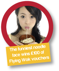 Win £100 in Flying Wok vouchers